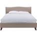 Battersby Linen Full Platform Bed - Nailhead - WI-CF8276-FABRIC