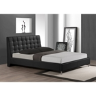 Zeller Queen Platform Bed - Black