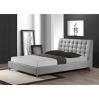 Zeller Queen Platform Bed - Gray