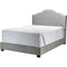 Juliet Upholstered Platform Bed - Button Tufted, Gray - WI-CF8610-GRAY-BED
