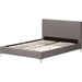 Harlow Quilted Fabric Upholstered Platform Bed - Gray - WI-CF8736-GRAY-BED