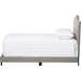 Emerson Upholstered Bed - Curvaceous Headboard, Nailheads - WI-CF8747-G-BED