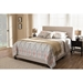 Hampton Upholstered Bed - Button Tufted - WI-CF8747-H-BED