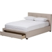 Brandy Platform Bed - Storage, Grid-Tufting - WI-CF8774-BED