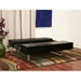 Noemi Black Wood Coffee Table with Storage - WI-CT-120-BLK