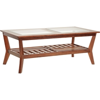 Kislear 1 Shelf Coffee Table - Brown