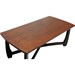 Straitwoode Rectangular Coffee Table - Cherry and Dark Brown - WI-HM909-30-CT