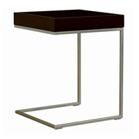 Cherie Black Wood Top C Table