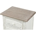 Anjou Accent Nightstand - 2 Drawers, White - WI-PLM4VM-M-B-CA