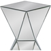 Rebecca Square Side Table - Mirrored - WI-RS1764
