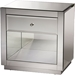 Rochadh 1 Drawer Nightstand - Silver Mirrored - WI-RXF-648