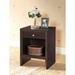 Leelanau Accent Table and Nightstand - Dark Brown - WI-ST-006-AT