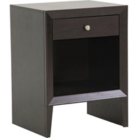 Leelanau Accent Table and Nightstand - Dark Brown