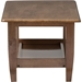 Pierce 1 Shelf Coffee Table - Walnut Brown - WI-SW3656-WALNUT-M17-CT