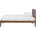 Daylan Slatted Platform Bed - Walnut Brown - WI-SW8016-WALNUT-M17