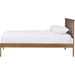 Trina Tree Branch Wood Platform Bed - Walnut Brown - WI-SW8019-WALNUT-M17-BED
