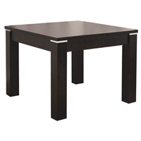 Fairfield Dark Brown Square End Table