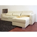 Olcott Cream Twill Sleeper Sofa with Storage Chaise - WI-TD0310-A538-1A