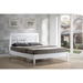 Jennifer Tree Branch Inspired Platform Bed - White - WI-TMH-BD-02-WHITE-BED