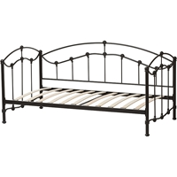 Dahlia Metal Daybed - Black