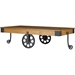 Lancashire Coffee Table - Casters, Brown - WI-YLX-0007-AT