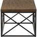 Holden Rectangular Coffee Cocktail Table - Antique Bronze, Brown - WI-YLX-2692-CT
