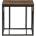 Palmer Square End Table - Antique Bronze, Brown - WI-YLX-2693-ET