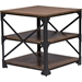 Greyson 3-Piece Occasional Table Set - Antique Bronze, Brown - WI-YLX-2694-3PC-TABLE-SET