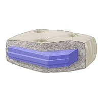 Wolf Perfect Futon A6111 - 6%27%27 Double Foam Queen Futon Mattress