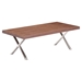 Renmen Walnut Coffee Table - ZM-100087