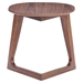 Park West Walnut Side Table - ZM-100098