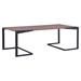 Sister Coffee Table - Walnut and Black - ZM-100150