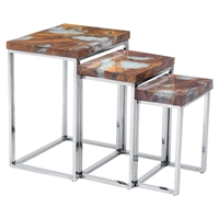 Fissure Nesting Tables - Natural