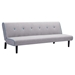 Greco Sleeper Sectional - Gray with Aqua Trim - ZM-100207