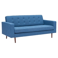 Puget Sofa - Tufted, Blue