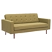 Puget Sofa - Tufted, Green - ZM-100221
