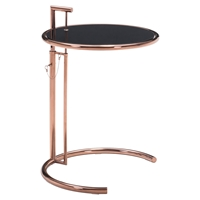 Eileen End Table - Rose Gold