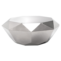 Gem Coffee Table - Stainless Steel
