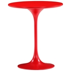 Wilco Tulip Side Table - Fiberglass, Red