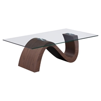 St Laurent Coffee Table - Walnut