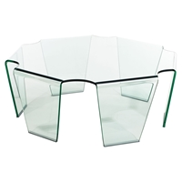 Circuit Clear Coffee Table