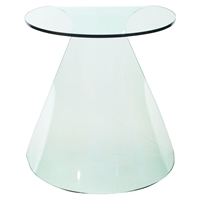 Quest Side Table - Clear