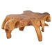 Broll Coffee Table - Natural and Antique Gold - ZM-404232