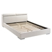 Godard Bed - White - ZM-8002-WH-BED