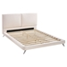 Rivette Bed - White - ZM-80022-WH-BED