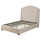 Ava Upholstered Bed - Soap, Platform, Tufted