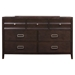 Legacy 7-Drawer Dresser - Black Cherry - ALP-1788-03