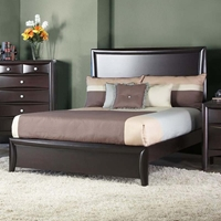 Laguna Full Panel Bed - Dark Espresso