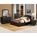 Del Mar California King Platform Bed - Dark Espresso, Storage - ALP-688-07-CK