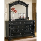 Heirloom Triple Dresser and Mirror Set